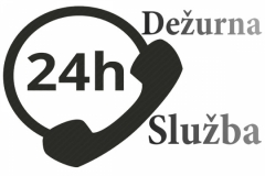 24h Dežurna služba